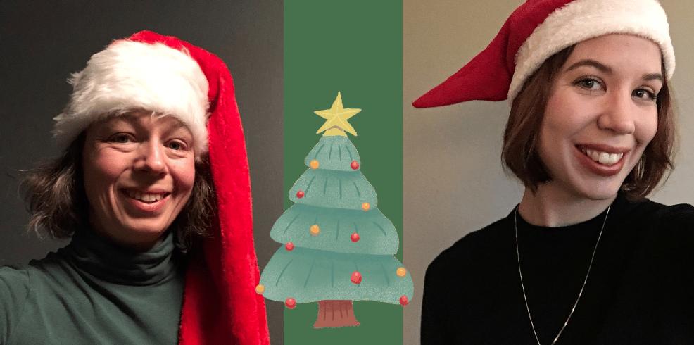 Julbild Maria Elin